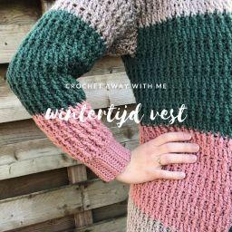Nieuw patroon: Wintertijd vest