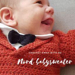 Nieuw patroon: Nord babysweater