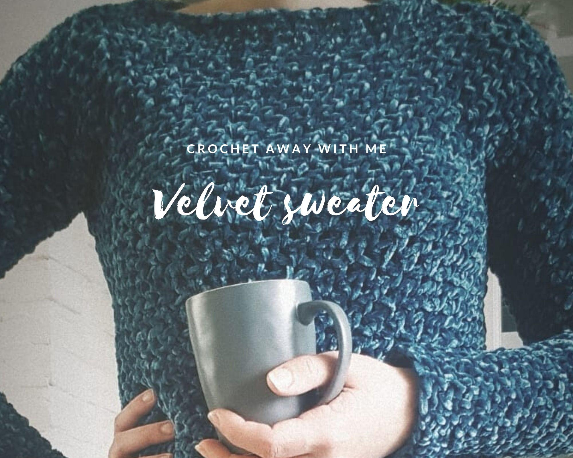 Velvet sweater2